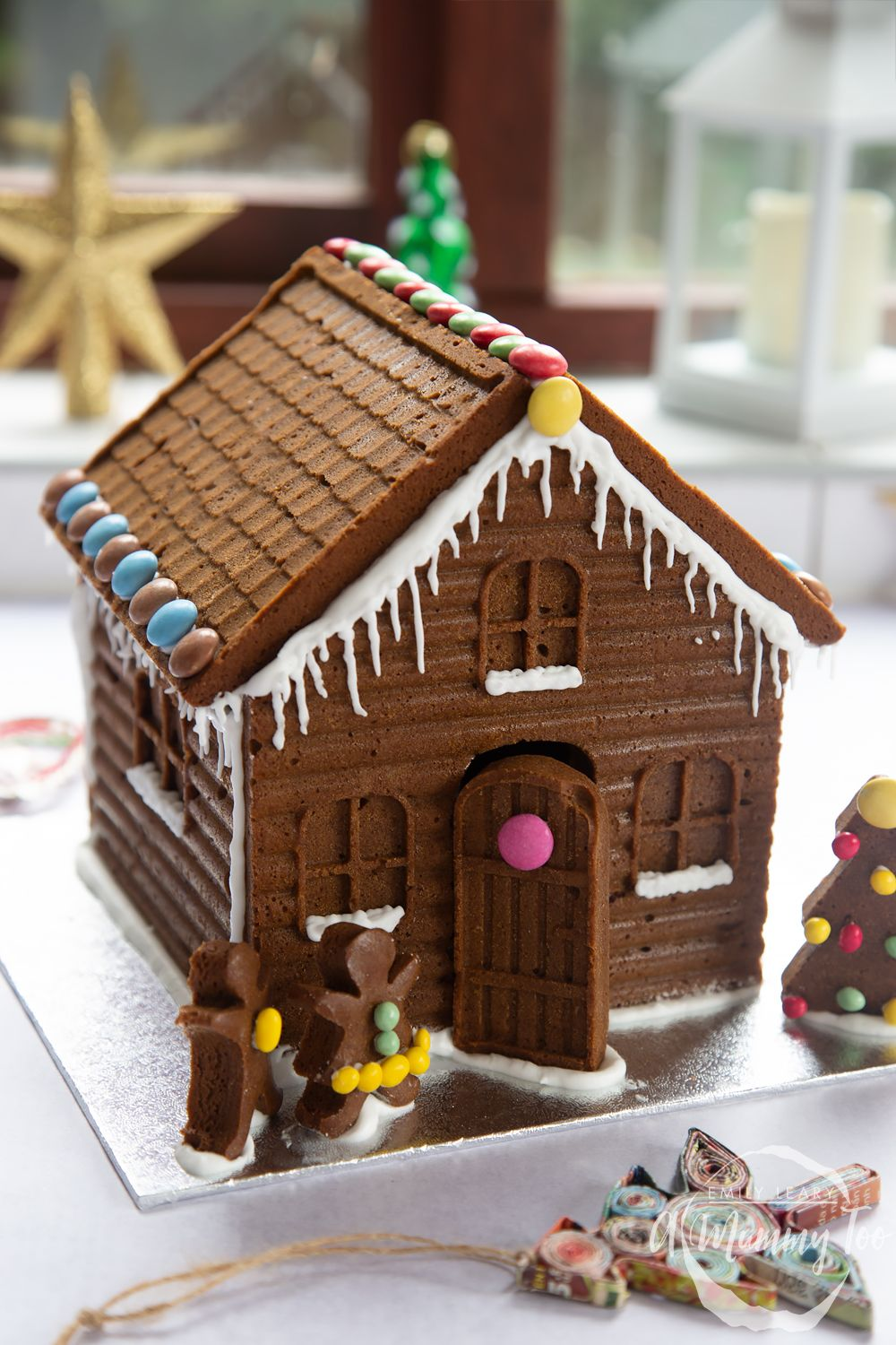 Easy, superdetailed gingerbread house Recipe