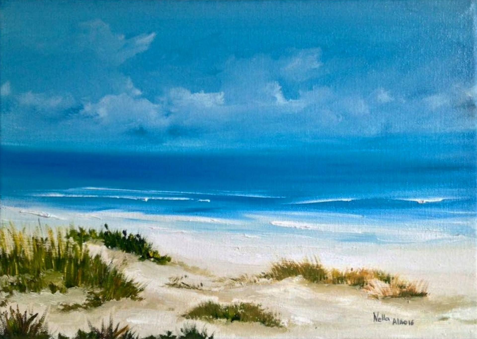 Dunes Painting Ocean Paintings On Canvas Ocean Painting Aesthetic Painting