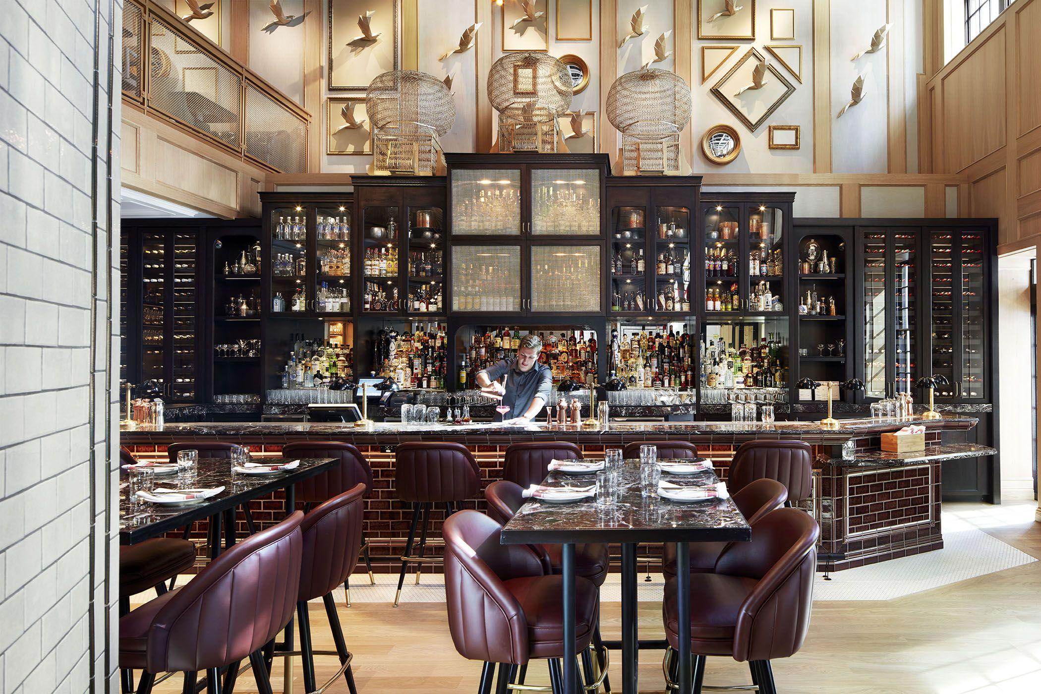 Restaurant Design Vancouver : Nightingale by david hawksworth studio munge bar