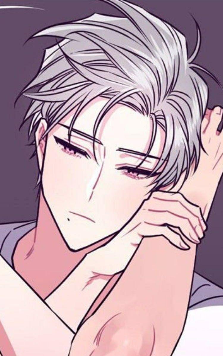Alaric Anime Boy Hair White Hair Anime Guy Anime Boy