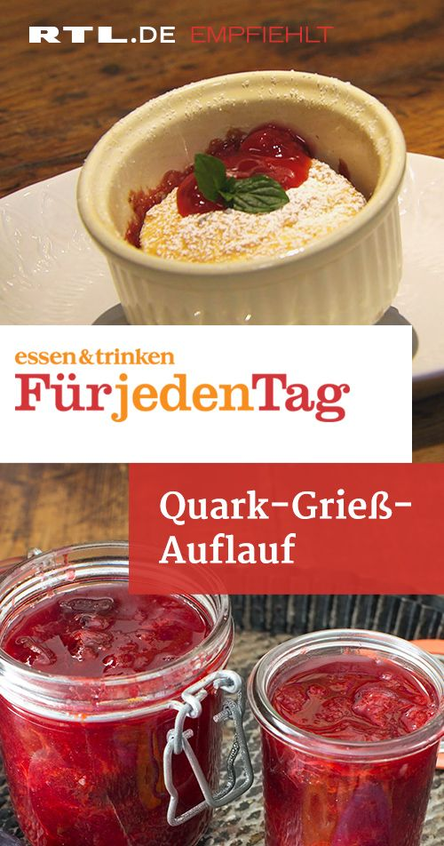 Quark-Grieß-Auflauf