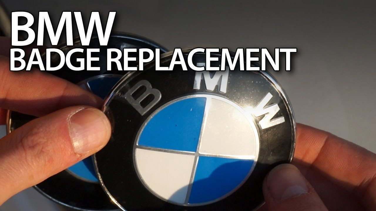 Replacing Bmw Bonnet Badge Emblem Tuning Maintenance Cars E88 Fuse Box