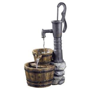 Fountain Cellar Old Fashion Water Pump Fountain Outdoor Planters