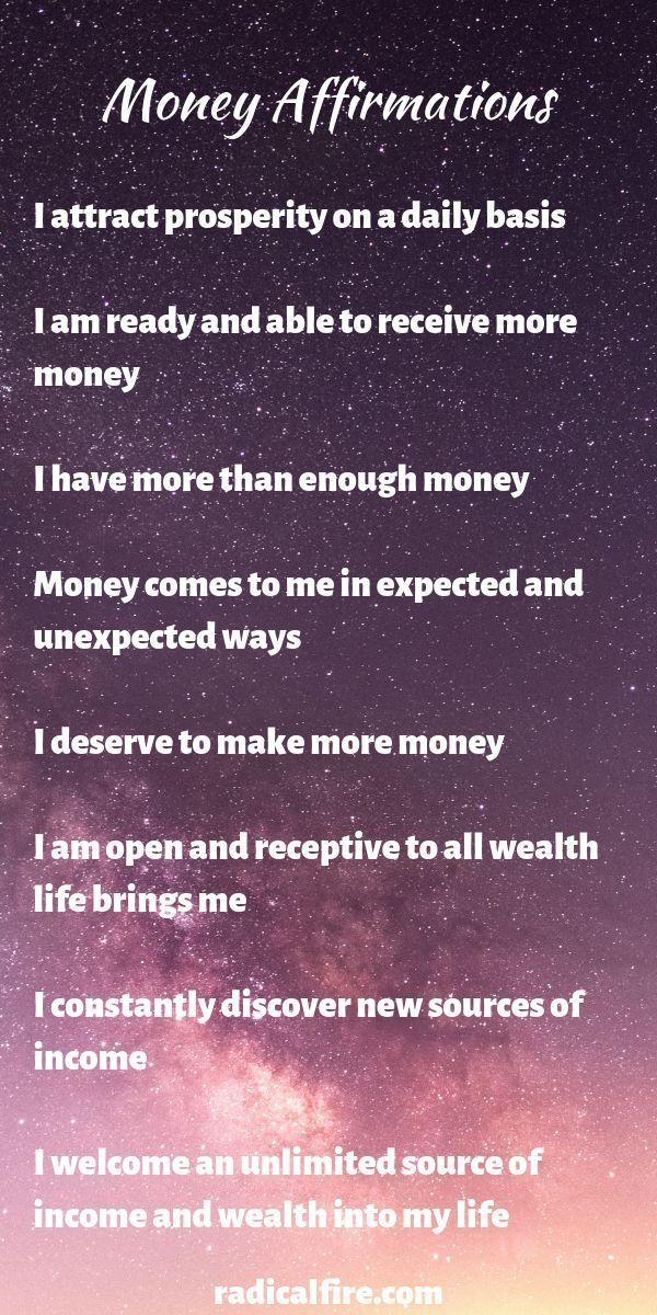 88 Life-Changing Money Affirmations to Attract Wealth and Abundance - Radical FIRE