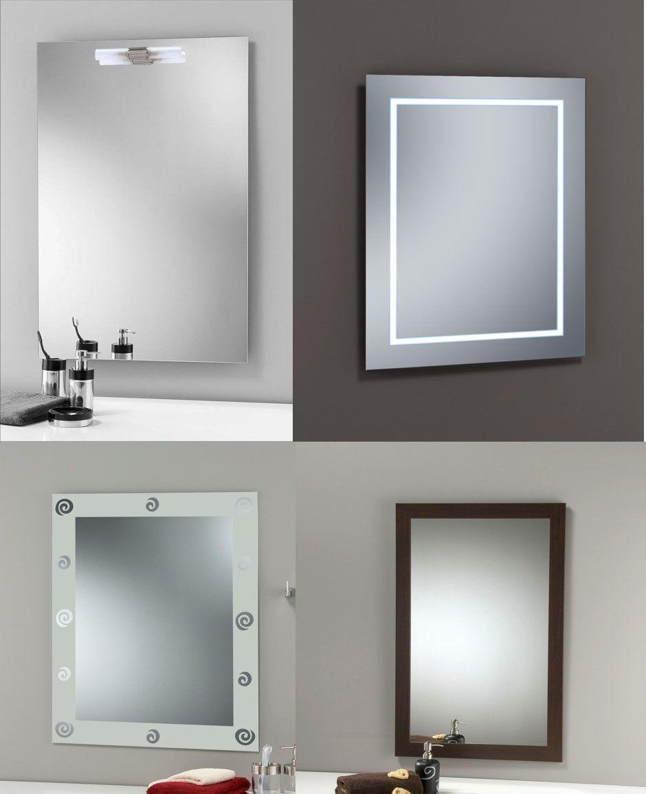 Espejito espejito te damos algunas ideas para decorar tu ba o con acabados en madera con - Decorar espejo bano ...