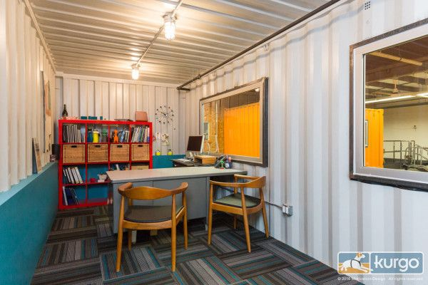 A Dog Friendly Office With Shipping Containers 이미지 포함