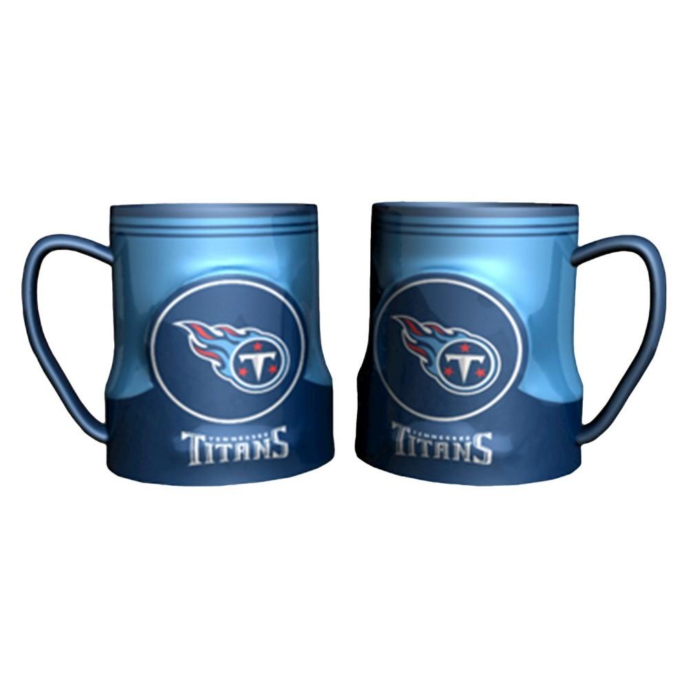 Tennessee Titans Boelter Brands 2 Pack Game Time Mug 20 oz, Blue