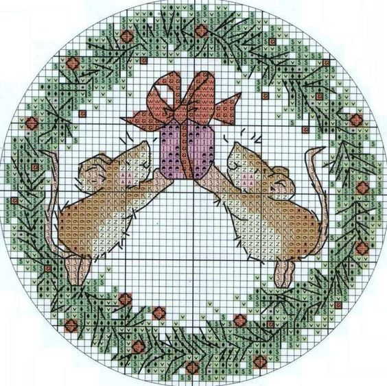 Wreath Mice 1