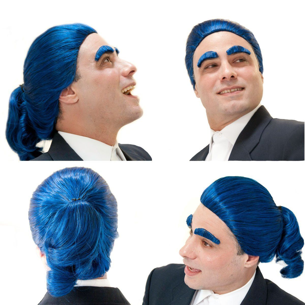 Caesar Flickerman Wig and Eyebrows | Hunger Games | Pinterest ...