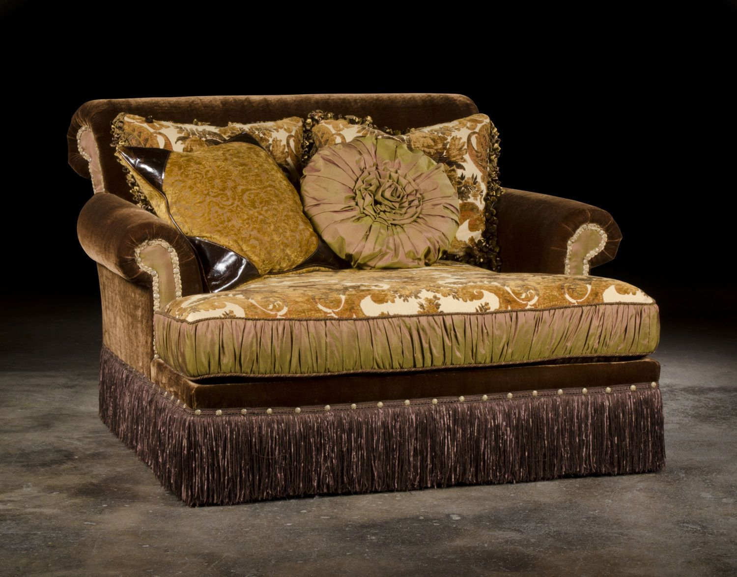 Paul Robert Living Room Chaise Lounge 341 17 Good S Nc