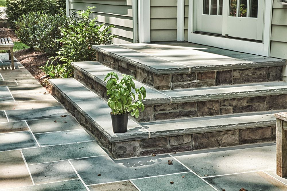 Best Front Landing And Walkway Google Search Flagstone 400 x 300
