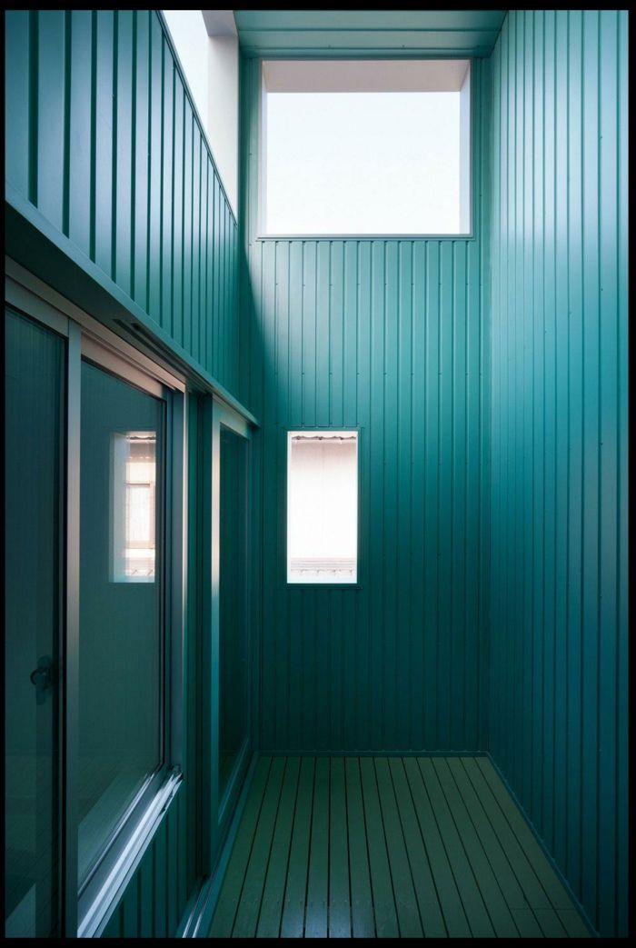 farbgestaltung wohnzimmer wandgestaltung wanddesign petrol blau - farbgestaltung wohnzimmer blau