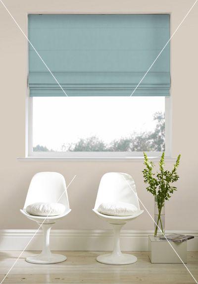 Roman Blinds Direct Duckegg Living Room Blinds Blue