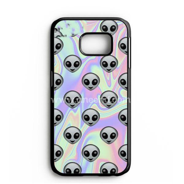 Tie Dye Alien Emoji Samsung Galaxy Note 7 Case | aneend