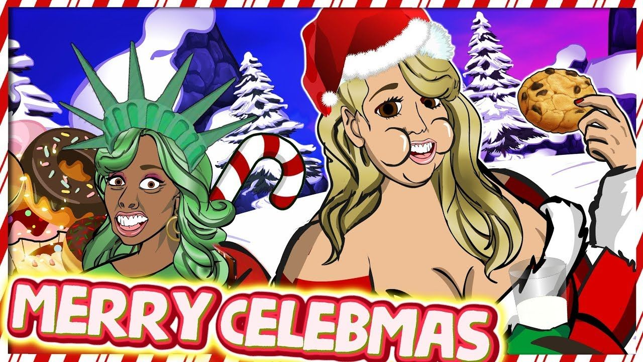 Mariah Carey All I Want For Christmas Is You Cartoon Parody Thanksgiving Cartoon Mariah Carey Cartoon