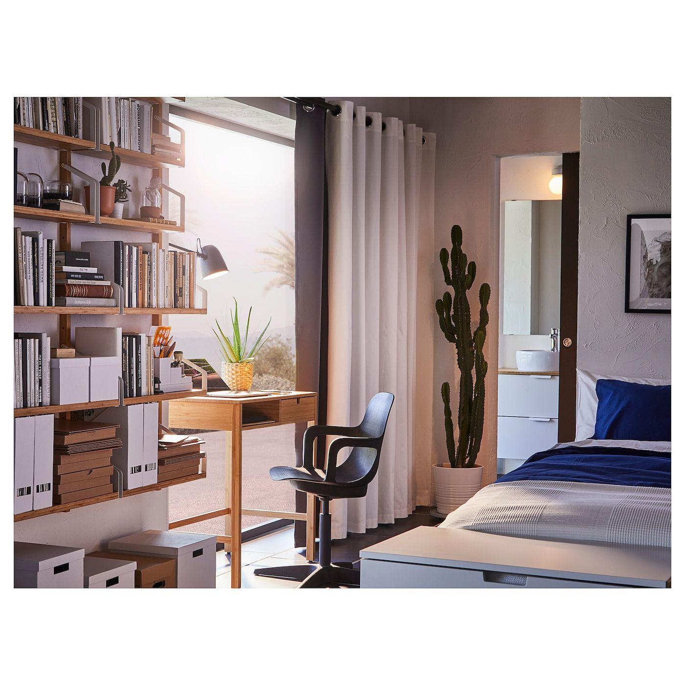 IKEA NORDKISA Bamboo Dressing table Ikea bedroom