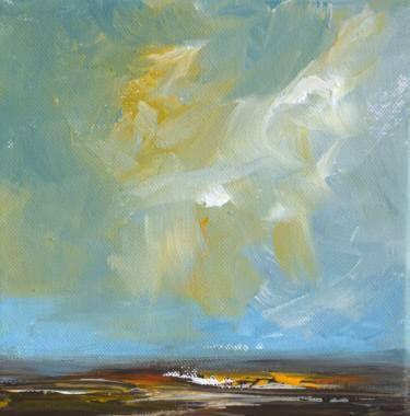 """Saatchi Art Artist W Van de Wege; Painting, """"Autumn in Verdronken land van Saeftinghe 2"""" #art"""