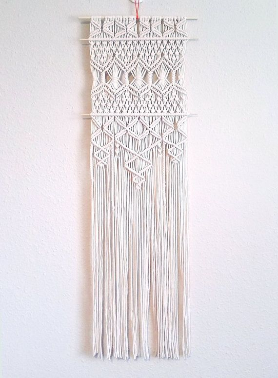 CROSSROADS |:| thin macrame wall hanging | boho home decor | 12 ...