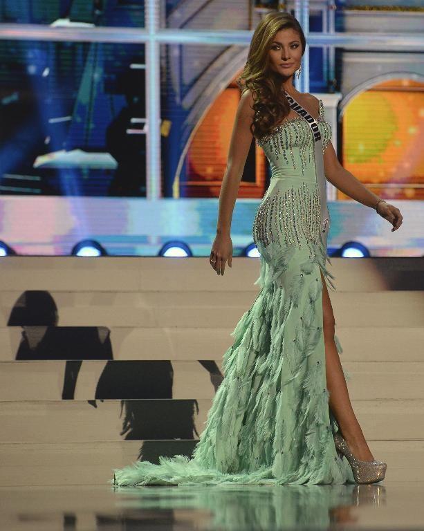 equador dress at miss universe 2013 | Miss Ecuador Constanza Baez ...