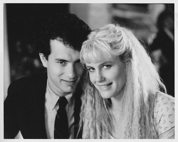 Vintage Original Photograph Tom Hanks, Daryl Hannah
