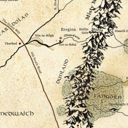 Interactive Map Of Middle Earth Lotrproject Education Language
