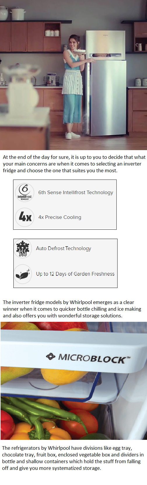 The Inverter Fridge Models By Whirlpool Emerges As A Clear Winner