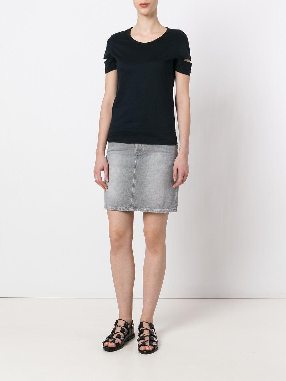 Shop Helmut Lang Vintage Short Denim Skirt At Modalist Denim Skirt Vintage Shorts Short Denim Skirt