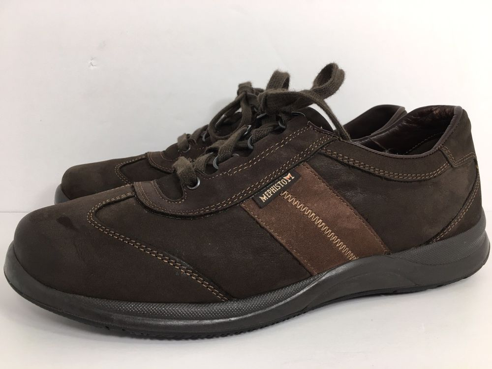 bf5a3589103 Mephisto Runoff Airjet System Brown Leather Women's Walking Shoes - Size US  8 | eBay
