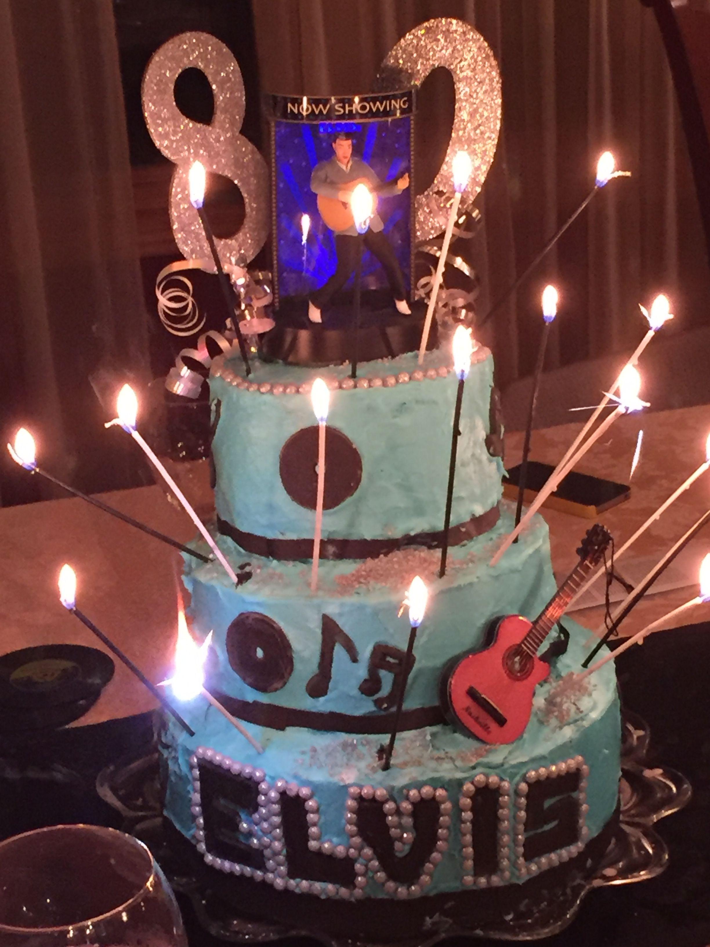 Homemade cake for grandmas bday!