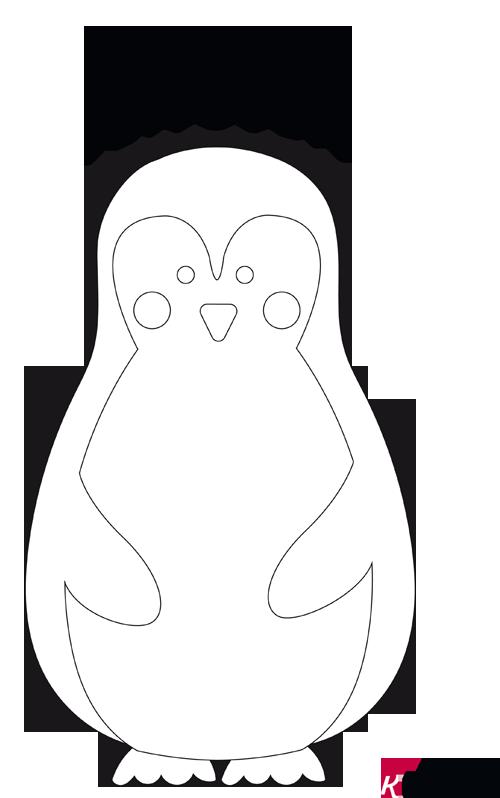 pinguin vorlage  pinguin basteln vorlage » pdf