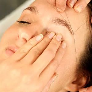 waxing or threading for hair removal  eyebrow care hair