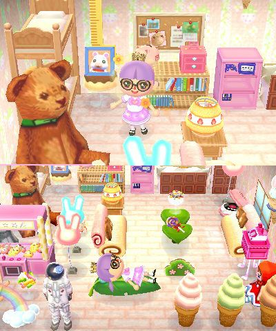 Your favourite room/decorating ideas!   Animal crossing ... on Animal Crossing Living Room Ideas  id=47946