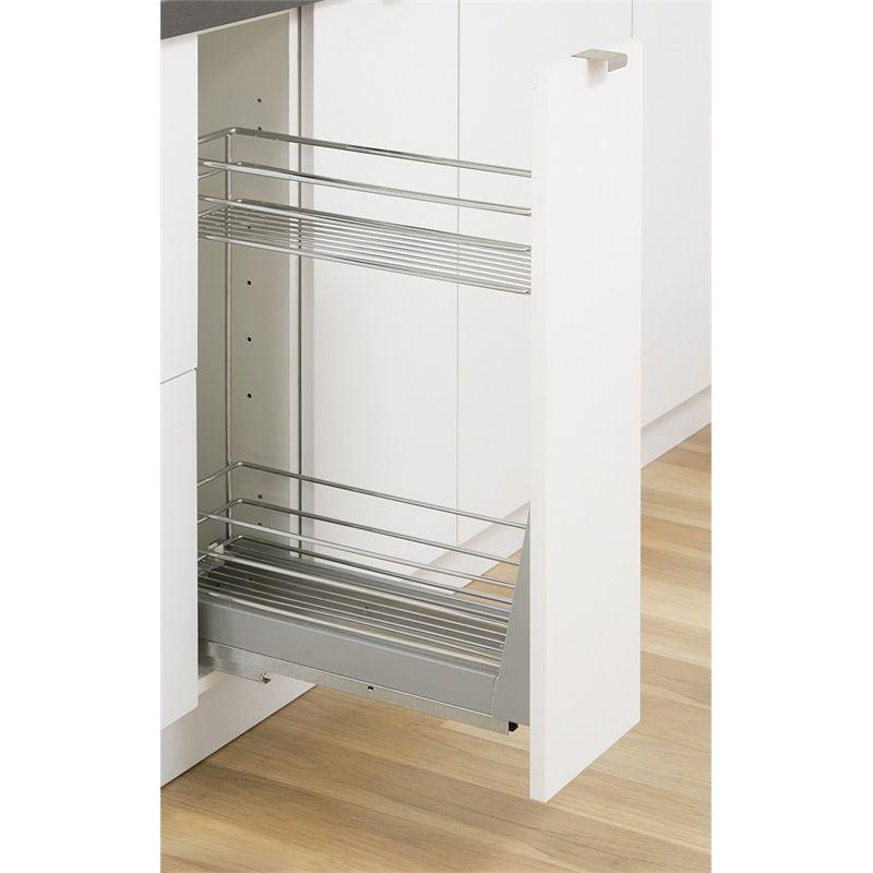 Kaboodle 200mm 2 Tier Soft Close Pullout Basket Kitchen