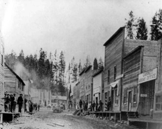 Garnet, Montana in the 1890's.