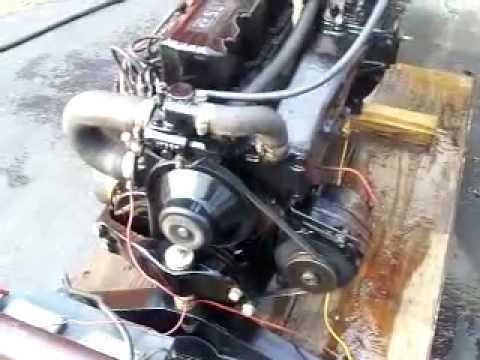 SOLD - Mercruiser 165 Hp Inline 6 Cylinder DROP IN READY motor