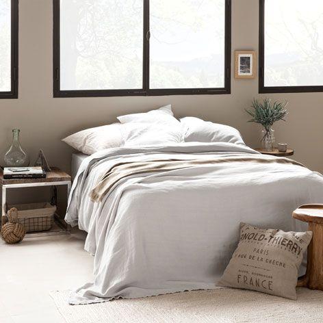 Favoriete VERWASSEN LINNEN SPREI EN KUSSENHOES - Dekens - Bed | Zara Home #PJ68