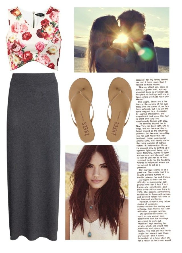 """Untitled #314"" by love123456789101112 ❤ liked on Polyvore featuring H&M, Tkees and Lulu*s"