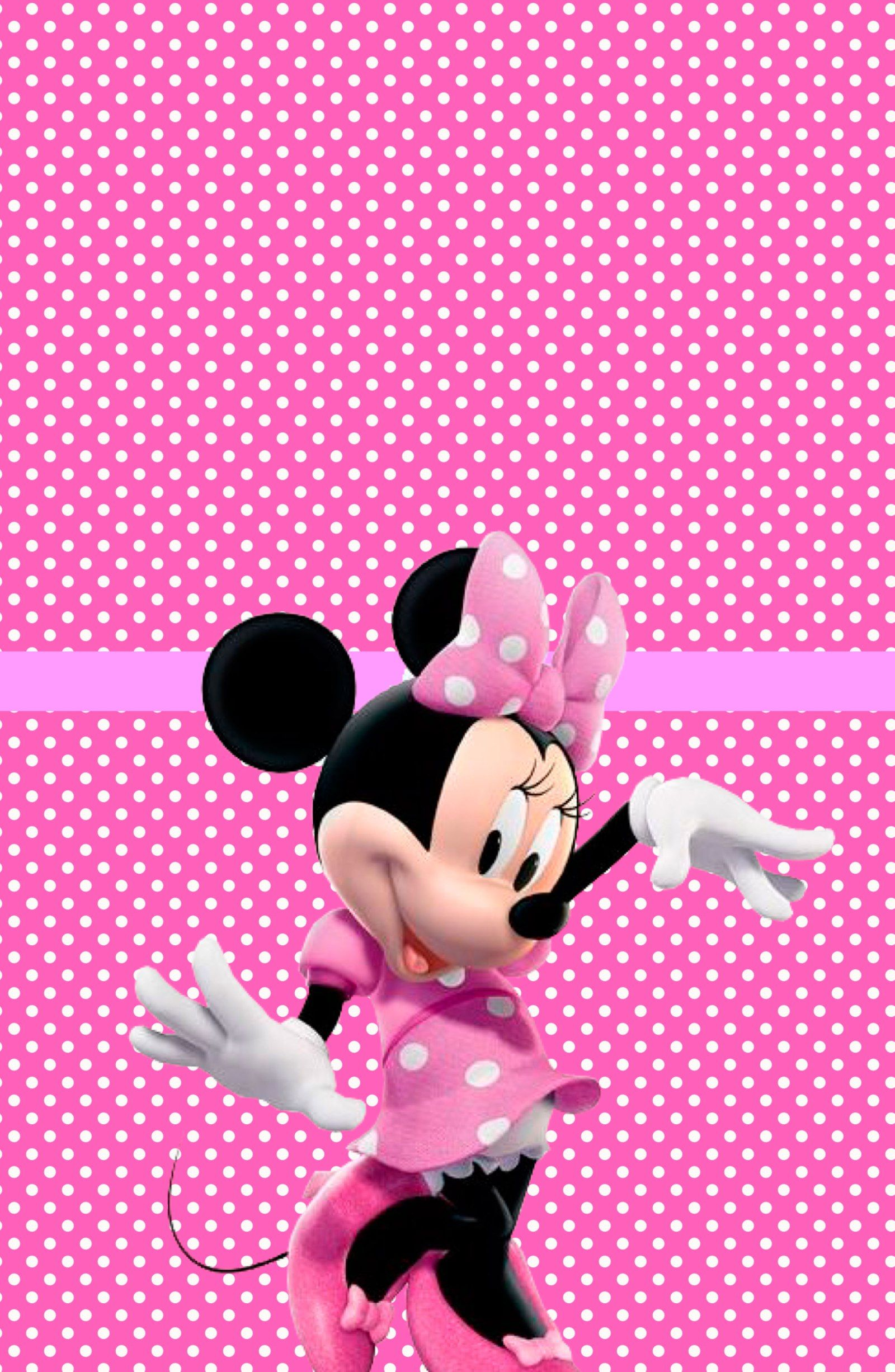 Kit Digital Minnie Rosa Tabelle Vuote Per Scriverci Pinterest