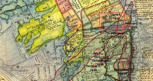 The 1830s: A Decade of Fire   Halsey Map Preservation Society of Charleston