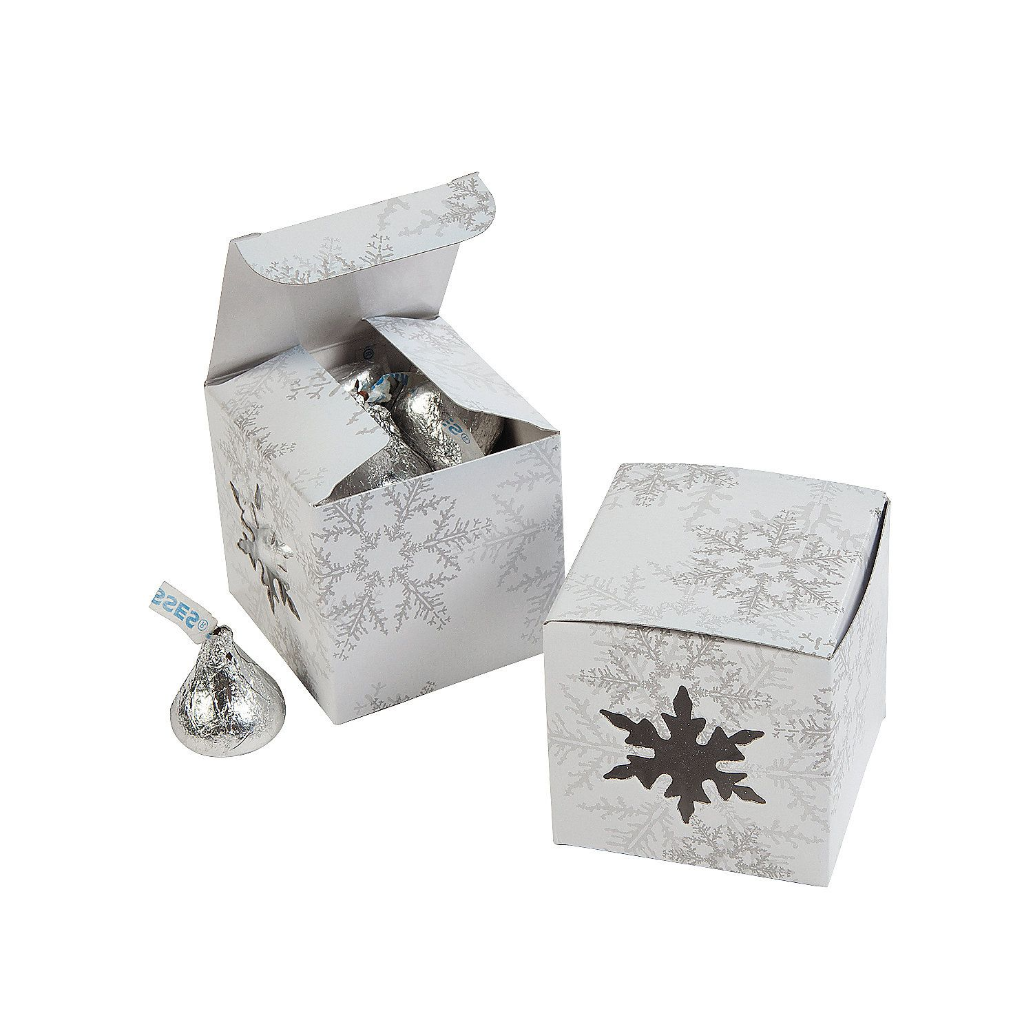 Die Cut Snowflake Gift Boxes | Box, Gift and Favours