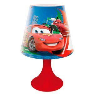 Disney Pixar Lampe De Chevet Disney Cars 2 Lamp