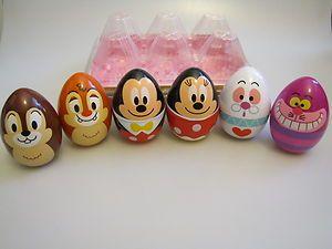 Easter Eggs Cheshire Cat Mickey Minnie Chip Dale Tokyo Disneyland Japan Disney