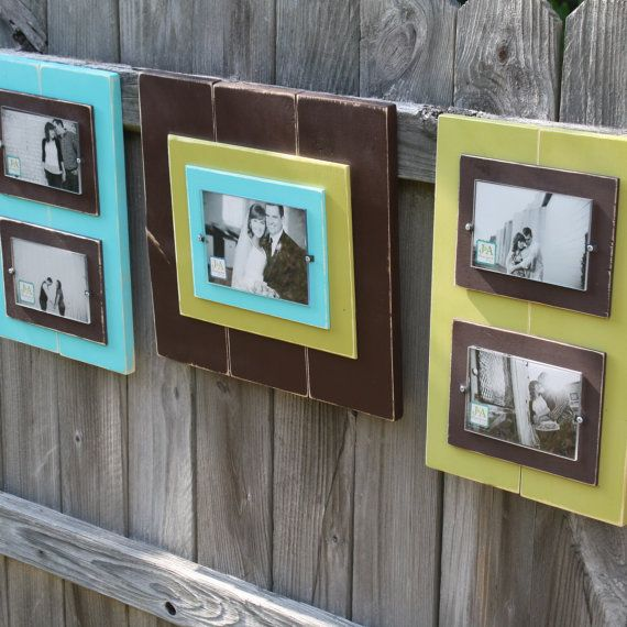 frame home decor wall grouping like the color, layering non ...
