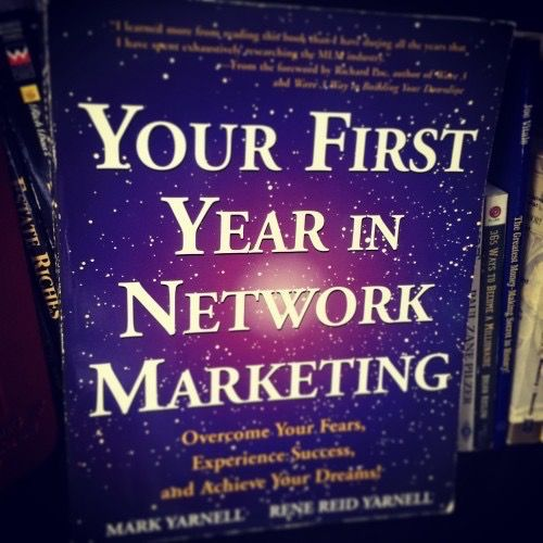 recommended-reading-mlm-distributors-first-year-in-network-marketing
