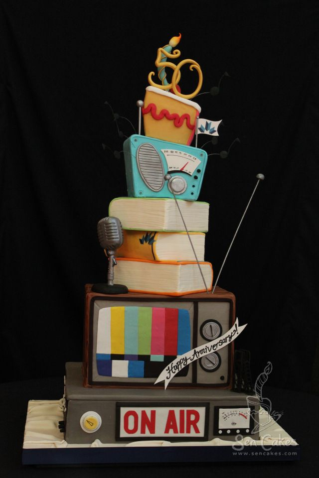 Mount Royal Broadcasting Cake Cake Cake Decorating