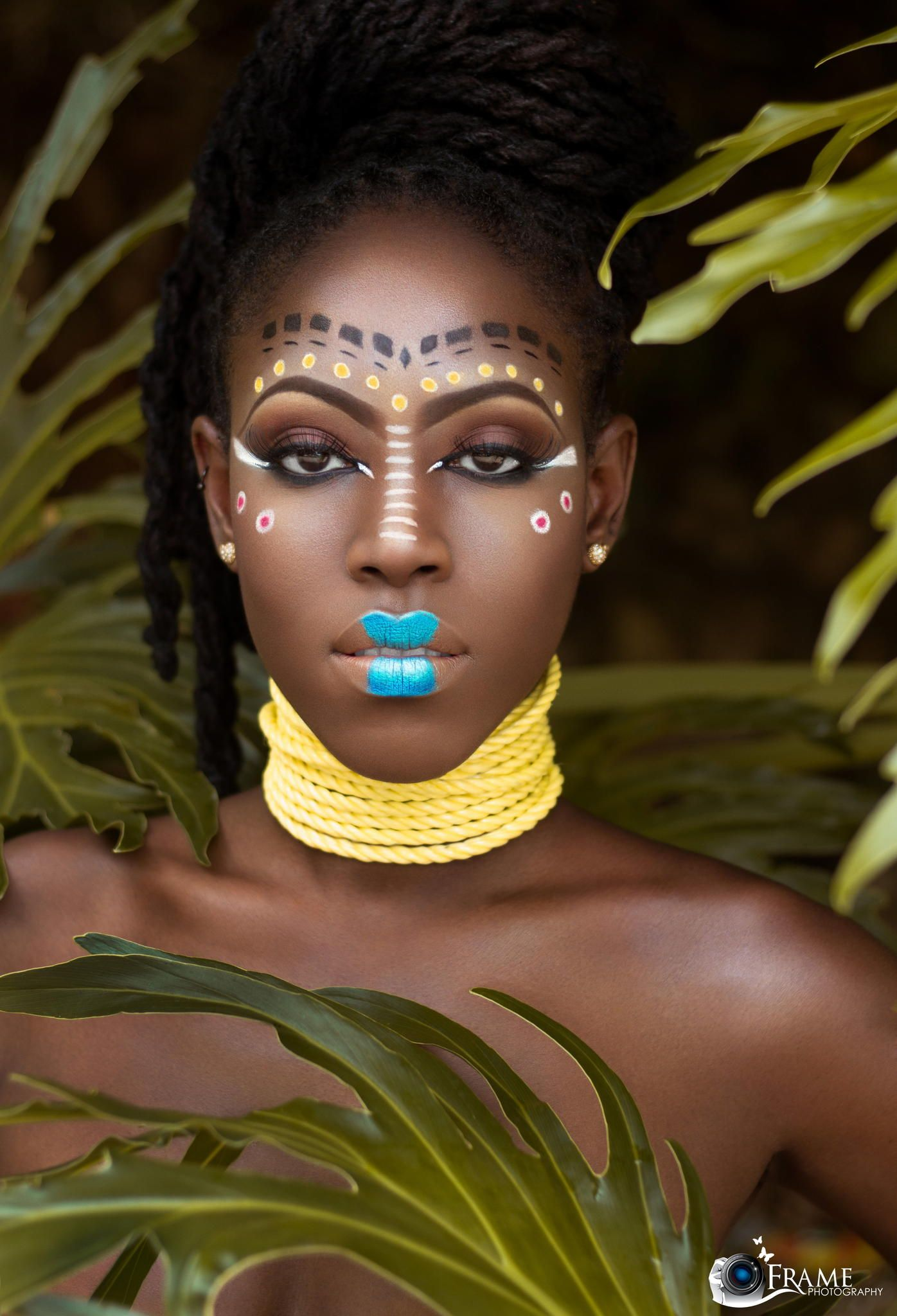 My Africana by Nigel Reid on 500px Maquillaje tribal