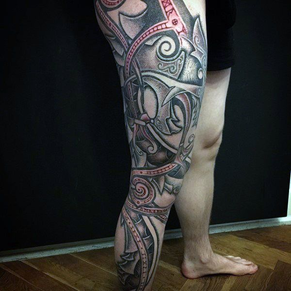 100 Norse Tattoos For Men Medieval Norwegian Designs Norse Tattoo Tattoos For Guys Viking Tattoos