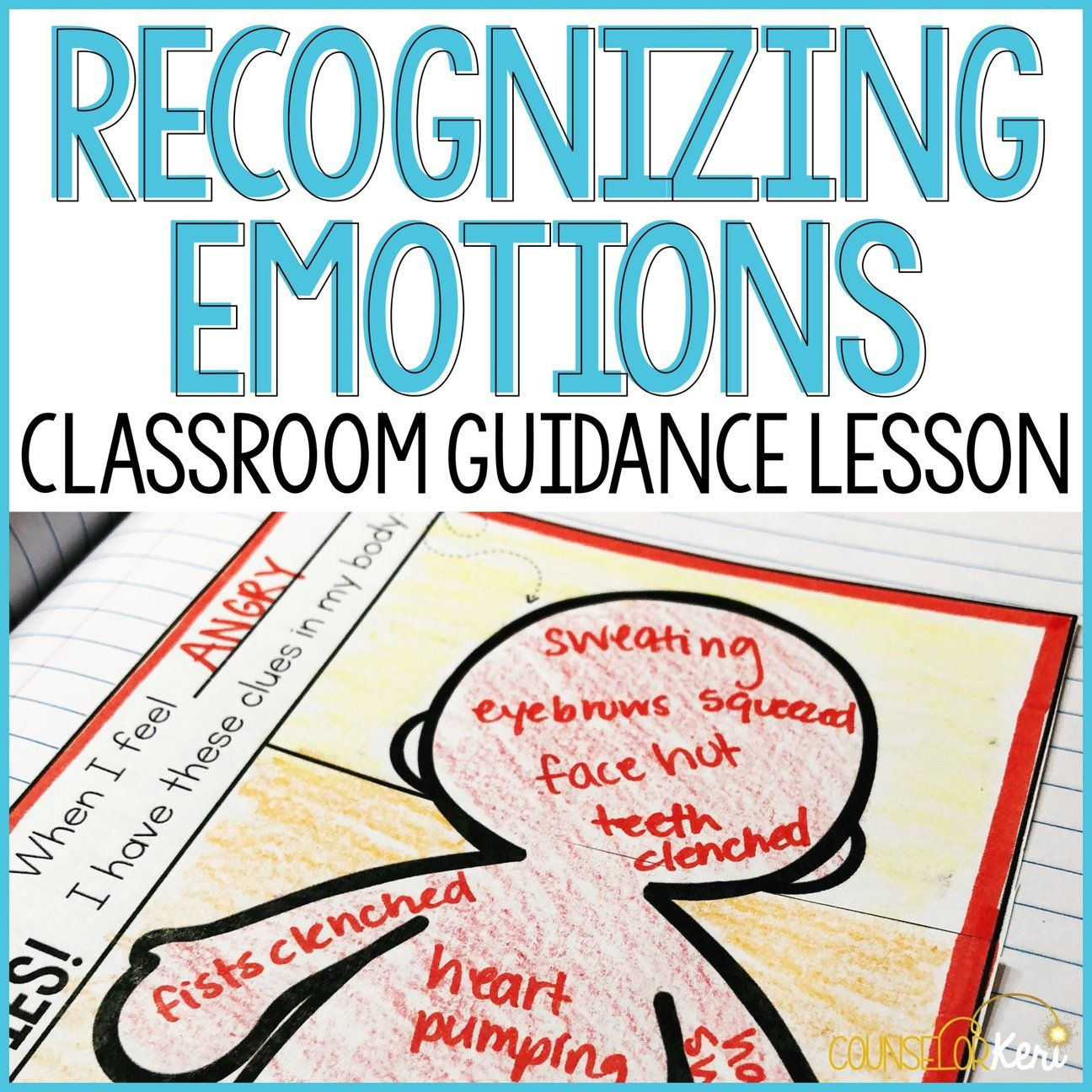 Recognizing Emotions Activity Classroom Guidance Lesson