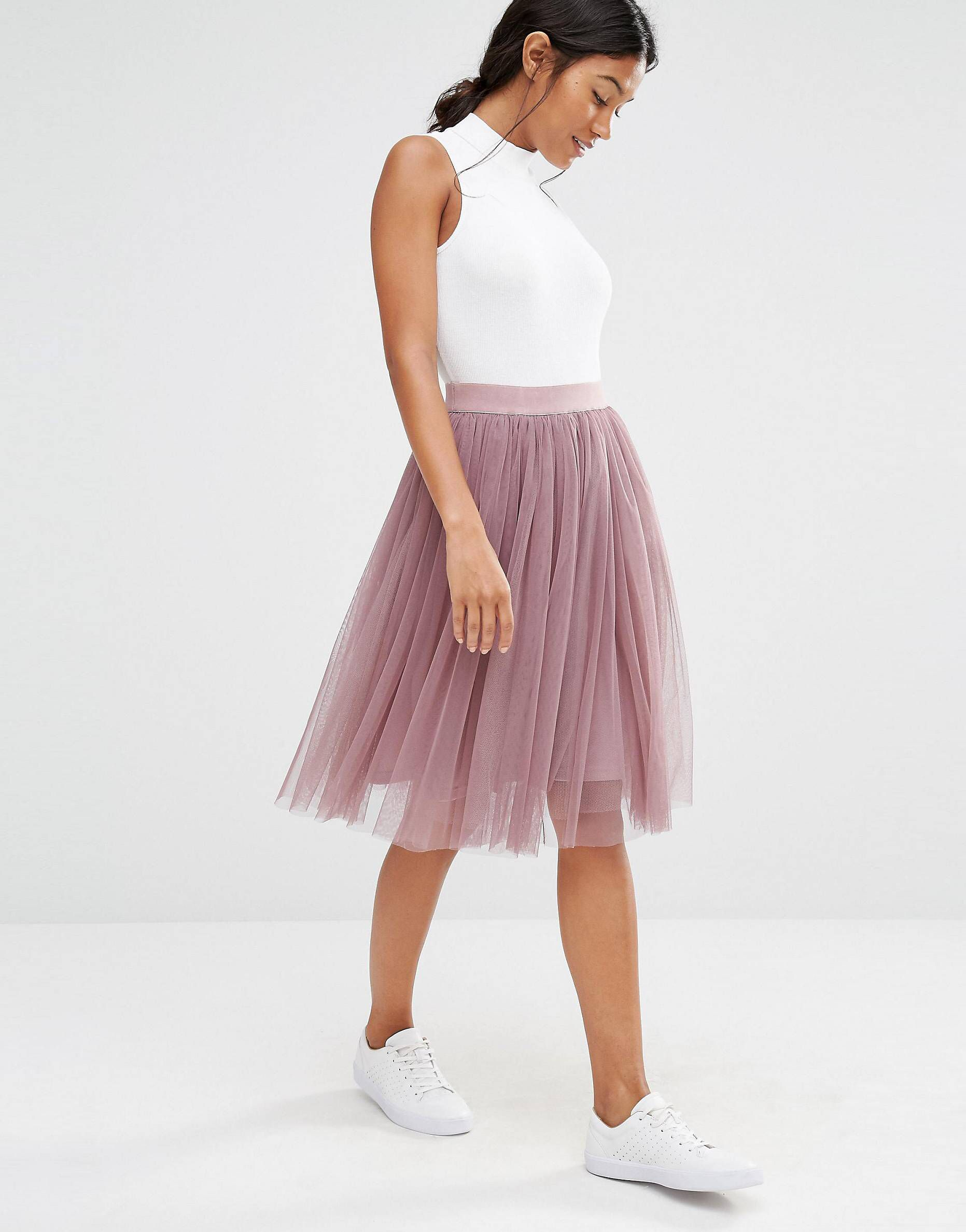 Boohoo Tiered Tulle Skirt At Asos Com Tullrock Outfits Tullrock Kleidung