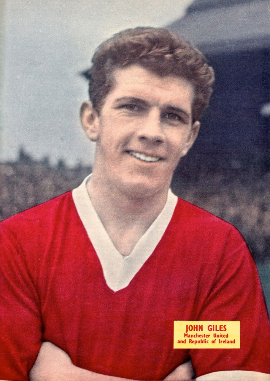 00ff3d85462 Johnny Giles  Republic of Ireland. Manchester United Youth
